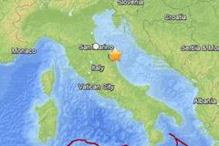 italy earthquake: 4.9-magnitude quake hits east coast